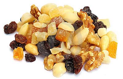 cashews almonds fruits
