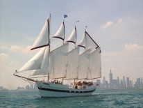 tall ship windy